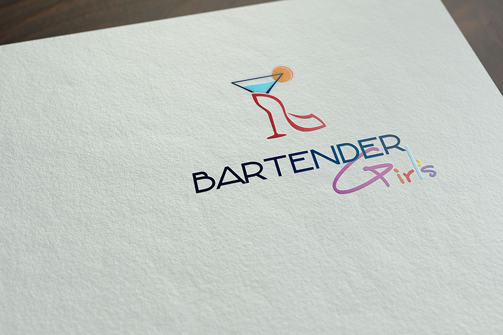 Logotipo Bartender Girl's